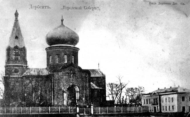 Резиденцией христианства Кавказской Албании был Дербент