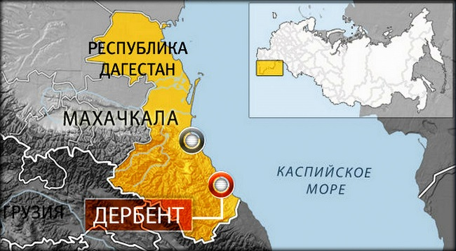 На карте России сразу видно, что он является самым южным городом нашей страны