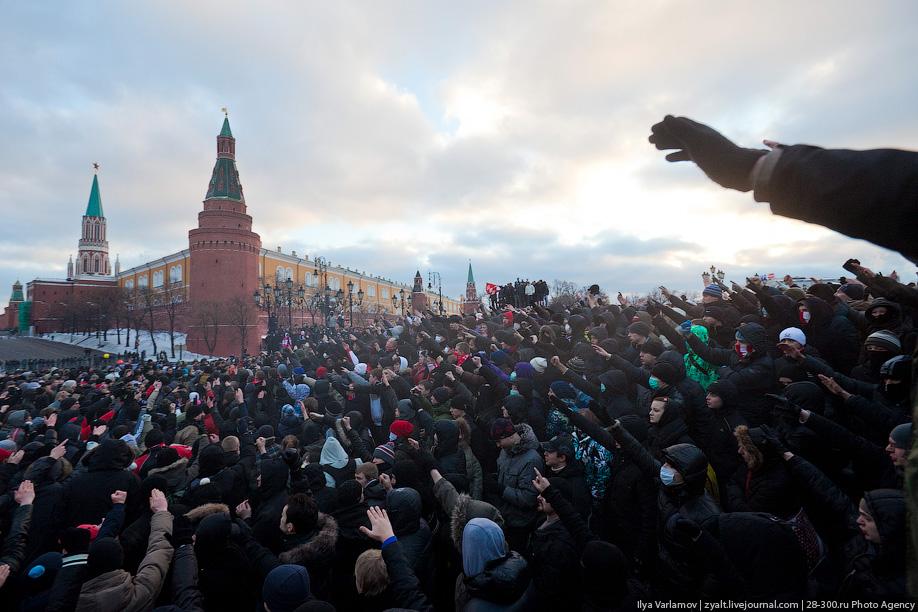 фашисты у Кремля
