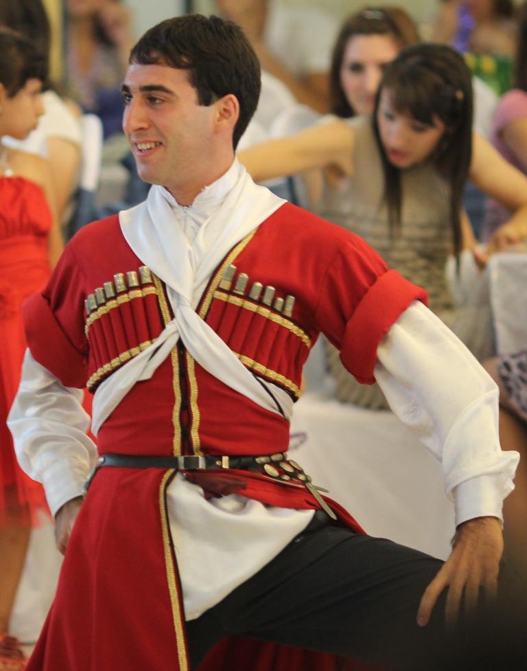 танцор лезгинки