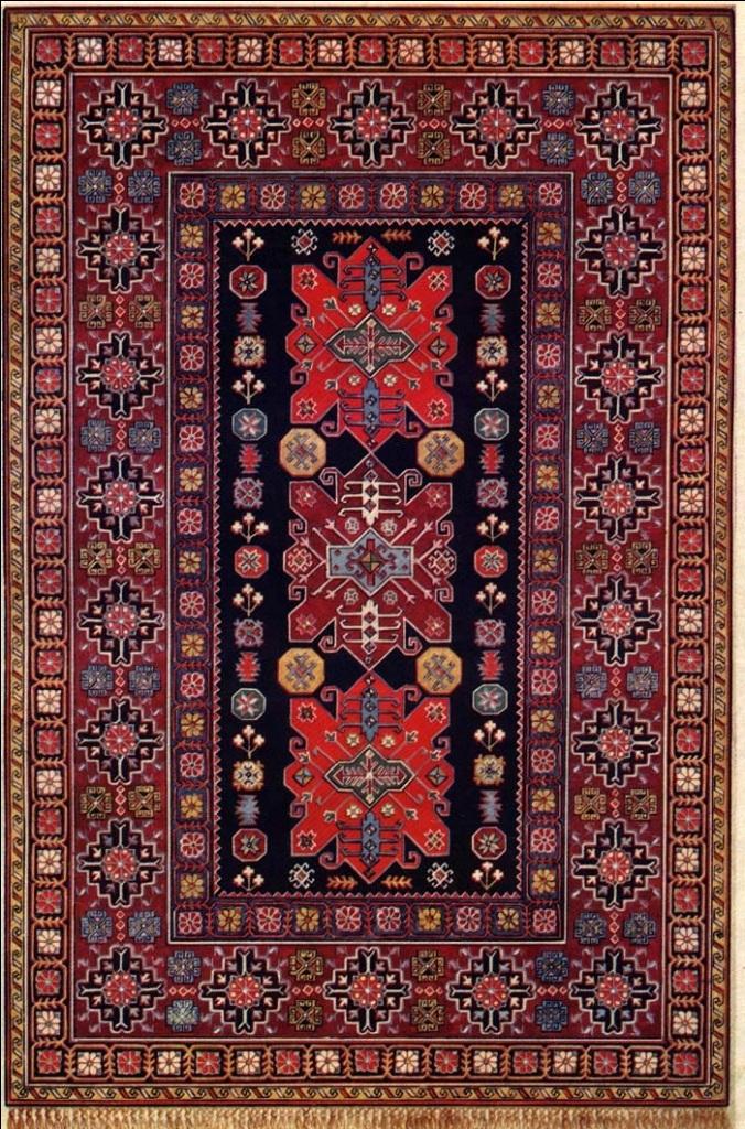 Один из самых распространенных видов ковров - ворсовые