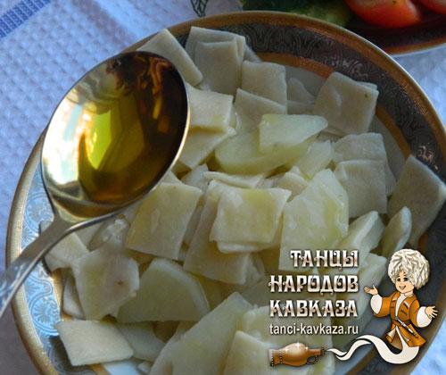 чеченский рецепт фото Хинкал с