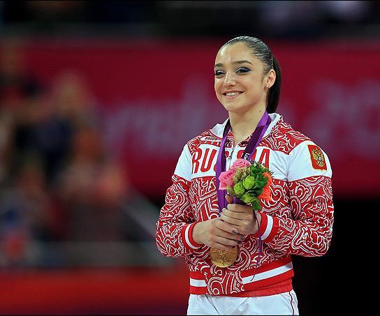 Знаменитая спортсменка Алия Мустафина