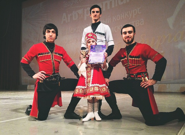 Хореографы школы танцев Азербайджана