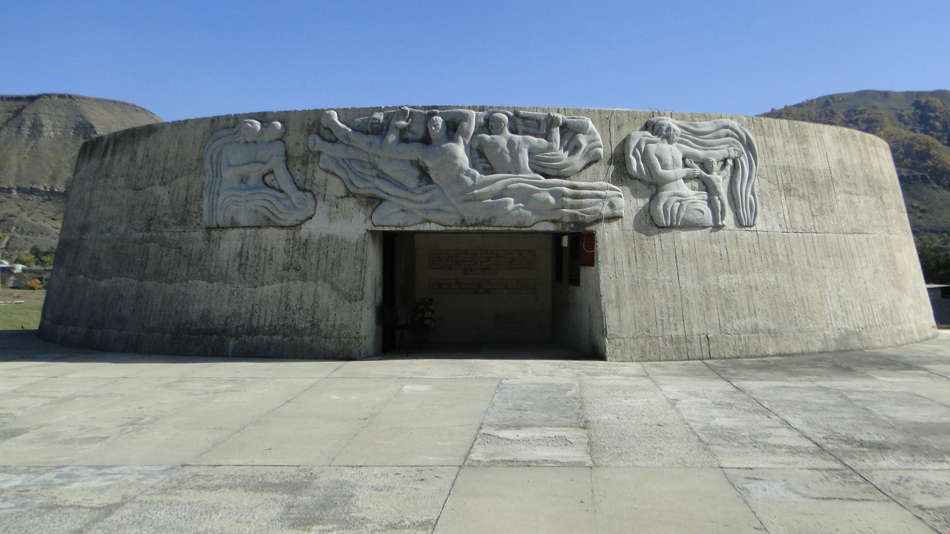 Памятник защитникам перевалов Кавказа