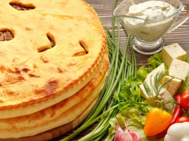 Фыдчин - осетинский пирог с мясом