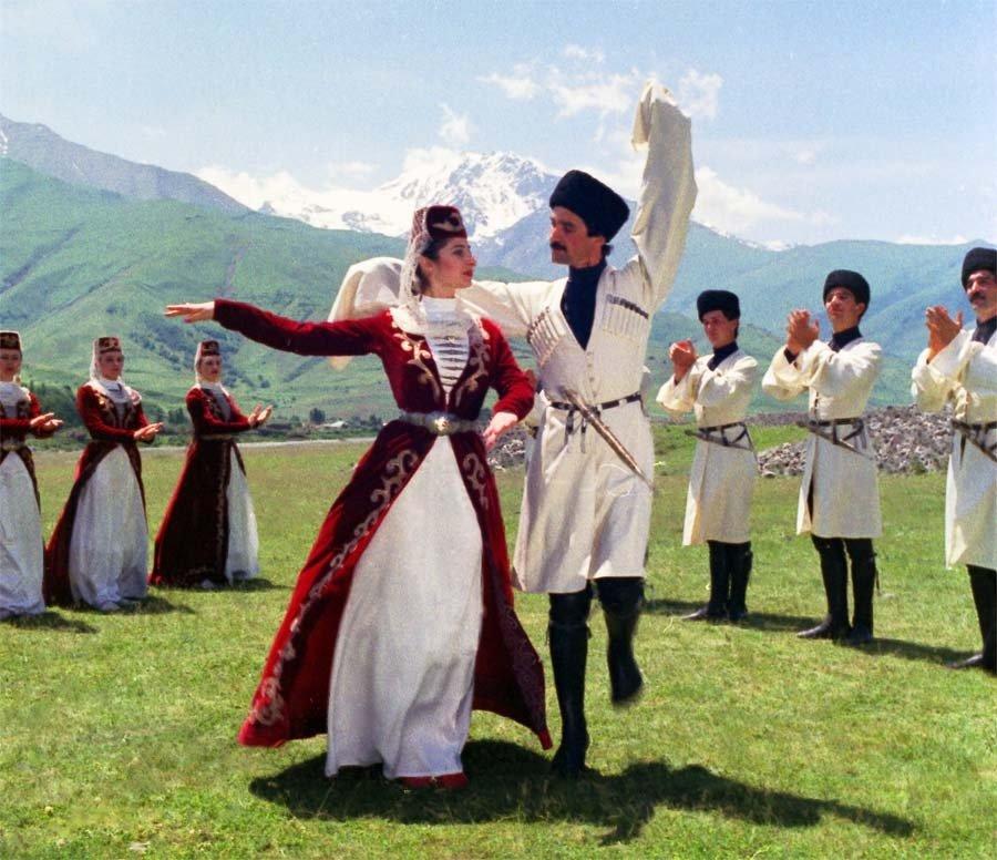 Свадебный грузинский танец