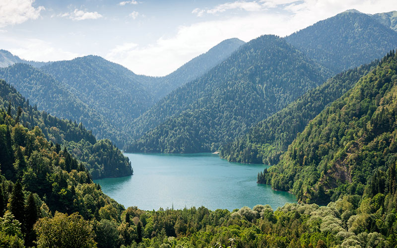 Озеро Рица Абхазия: фото