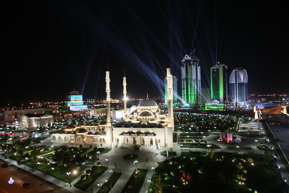 Рамзан Кадыров: город Грозный