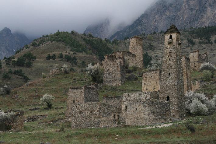 Родовые башни Ингушетии
