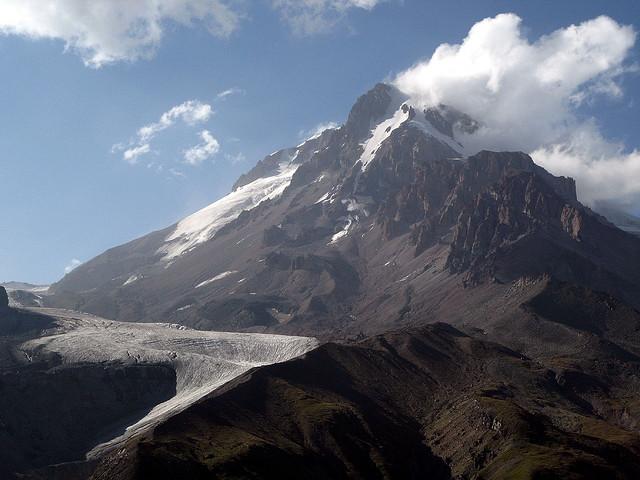 Гора Казбек фото