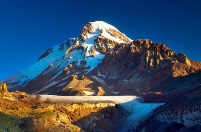 Казбек, кавказские горы
