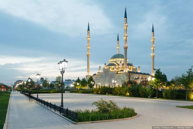 Сердце Чечни Грозный