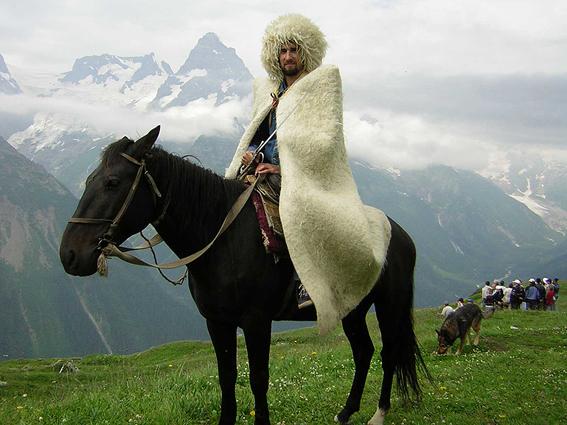 Кавказская бурка