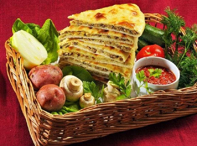 Баранина считается основным мясом в рационе среднего осетина