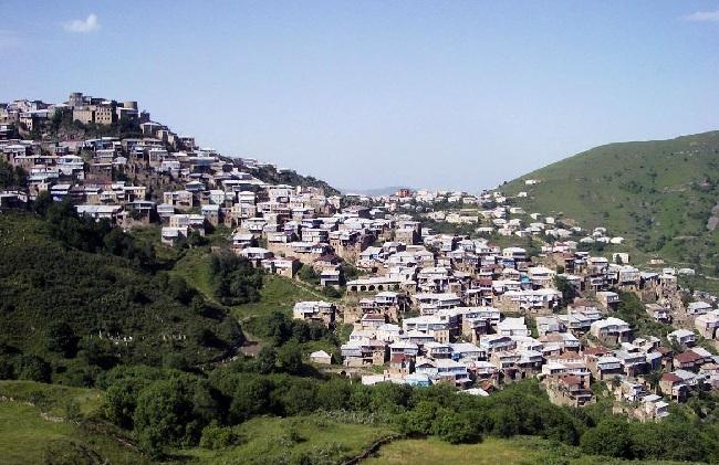 Село Кубачи в Дахадаевском районе Дагестана