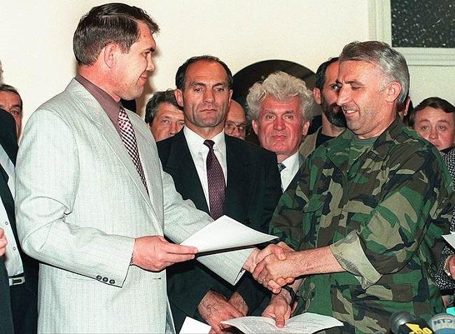 На фоне успешной боевой операции были подписаны Хасавюртовские соглашения