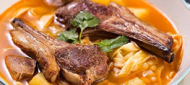 Шурпа - одно из разновидностей блюд дагестанской кухни
