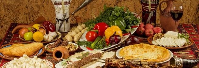 Дагестанская кухня так же гостеприимна, как дом горца