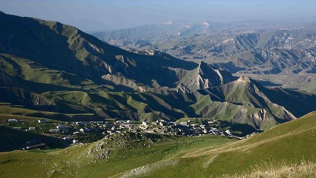 Величественные горы Дагестана завораживают взор
