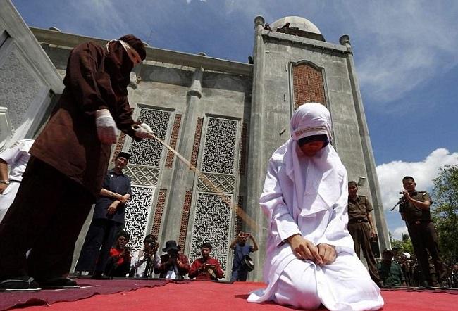 Наказание за нарушение законов исламского шариата