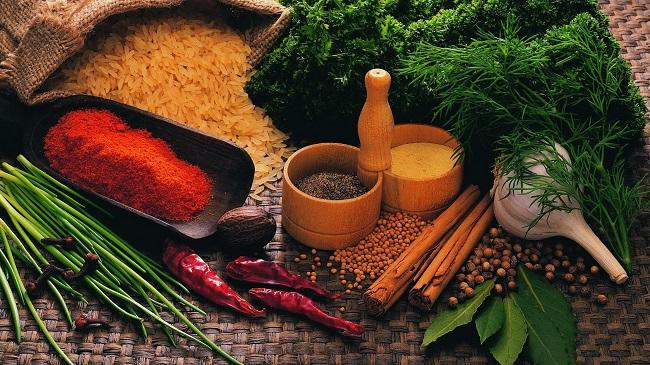 Дагестанские блюда не обходятся без пряностей и зелени