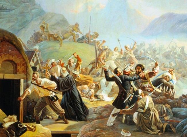 Кавказская война между Российской империей и горцами Северного Кавказа вызвана колониальной политикой царизма