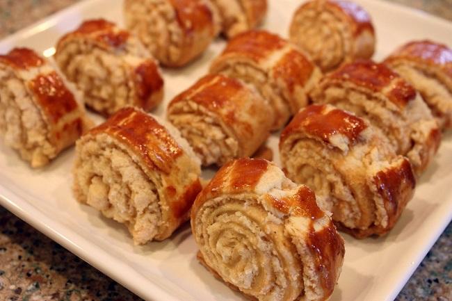 Вкусное слоенное печенье – гата
