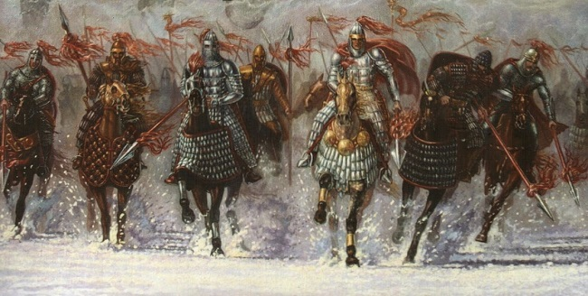 Предками осетин были воинственные аланы
