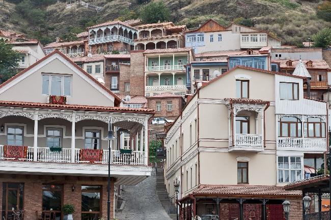 Грузинская архитектура завораживает своей красотой