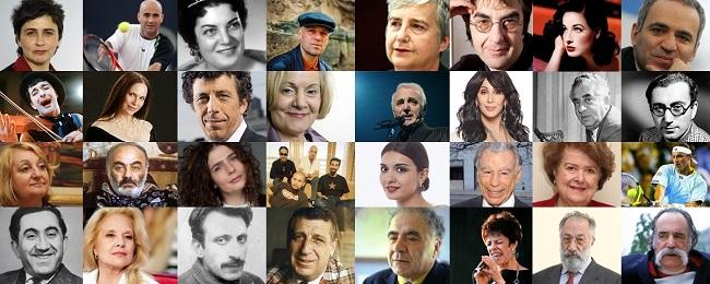 Армянский народ подарил миру много достойных личностей, которые внесли огромный вклад в развитие общества