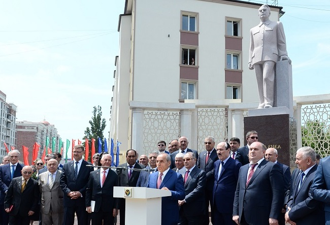 В 2016 году в Махачкале в честь Азиза Алиева, был открыл мемориальный комплекс