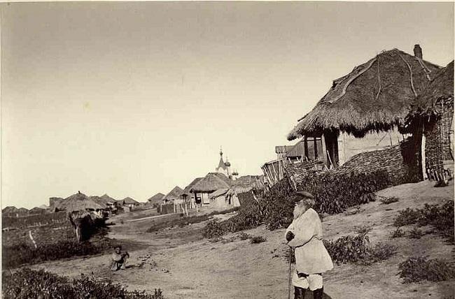 Терские казаки строили довольно простые дома
