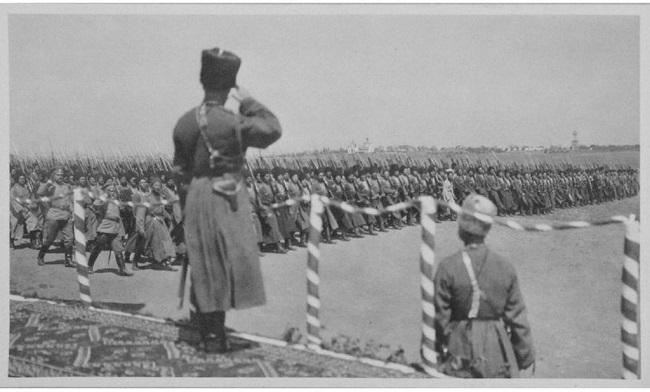 Казачьи войска в боях Первой Мировой Войны проявили преданность
