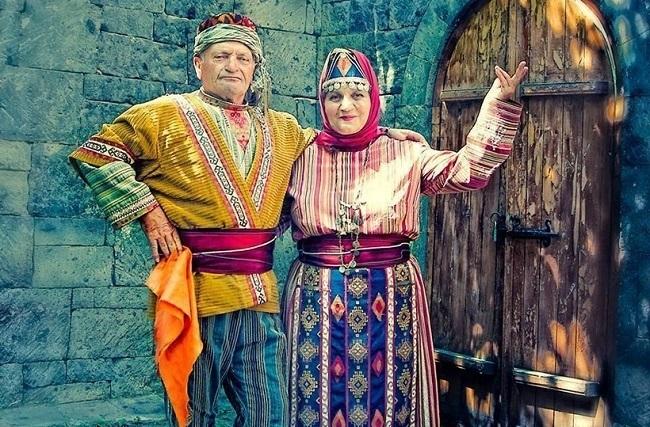 Армяне свое происхождение связывают с одним из правнуков Ноя, богатырем Гайком