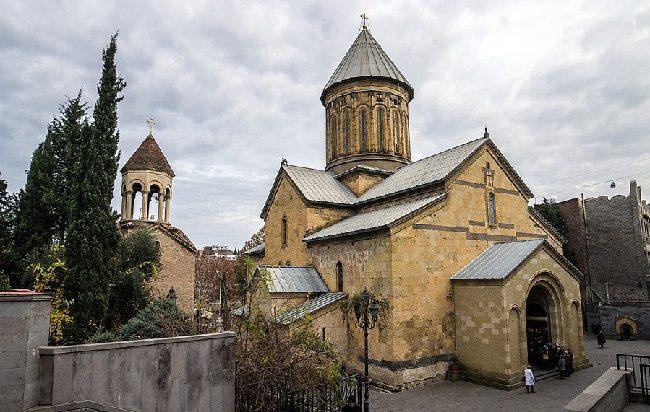 Сионский собор является одним из главных храмов грузинской столицы