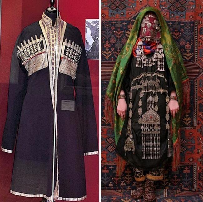 Аварские свадебные костюмы отличались от нарядов других народов