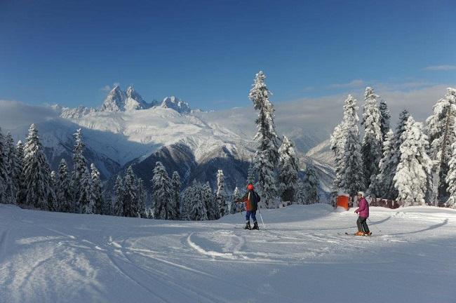 Хацвали близ Местии является самым молодым горнолыжным курортом