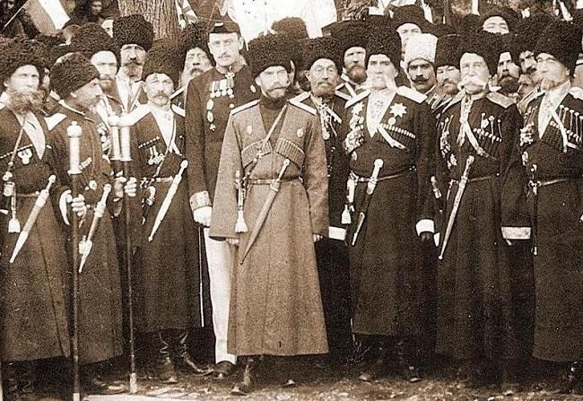 Терские казаки прибыв на Кавказ, обживали новые земли