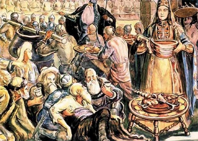Аланы были этносом со своей богатой культурой и традициями