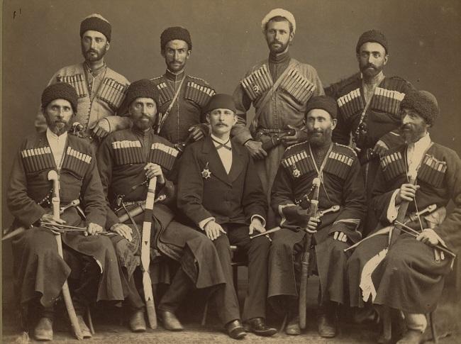 Основным элементом национального костюма была черкеска