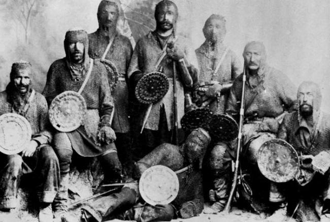 Хевсуры – это грузинские племена, проживавшие в горах