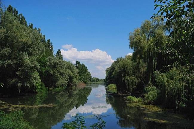 Река Кубань – важный источник пресной воды на юге России