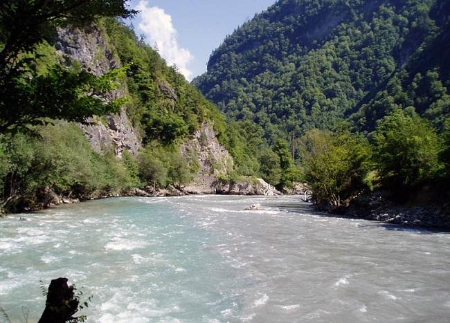 Грузинские реки одни из самых чистых