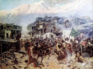 Жители Ахульго сражались за свободу до последней капли крови