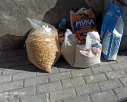 Югоосетинские семьи получили благотворительную помощь