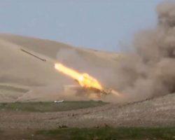 Азербайджанские ВС нанесли удар по РК на территории Армении