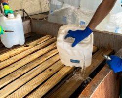 В РСО–Алания уничтожено почти 150 тонн конфискованного спирта