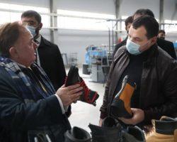 На базе завода электродвигателей создано обувное производство