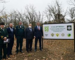 В рамках экологической акции в Чечне заложен «Сад дружбы»